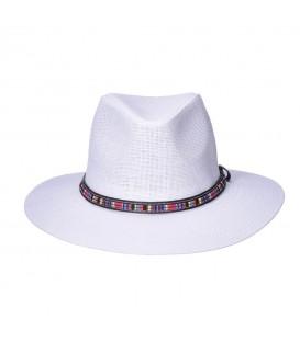 Sombrero Panama con Cinta Color