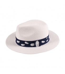 """Sombrero Panama con Cinta """"hoja"""""""