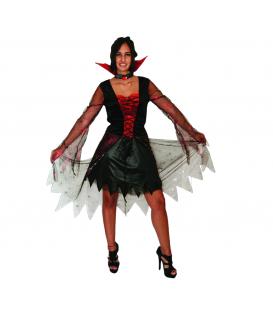 Disfraz Vampiresa con Tela Araña