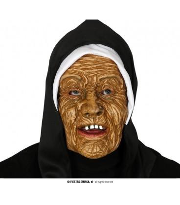 Mascara monja con Capucha PVC