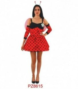 Disfraz Hada Mariquita Mujer - Adulto