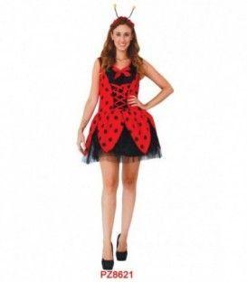 Disfraz mariquita Mujer - Adulto