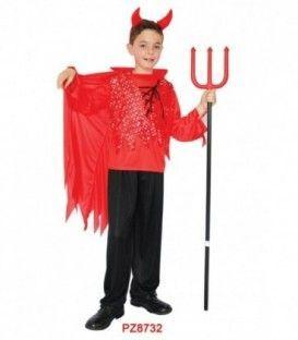 Disfraz Demonio Rojo - Niños