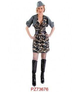 Disfraz Soldado Mujer - Adulto