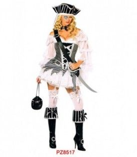 Disfraz Lady Pirata Adulto Mujer