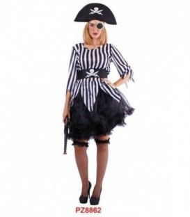Disfraz Lady Pirata - Adulto