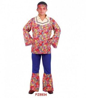 Disfraz Hippie Adulto (Hombre)