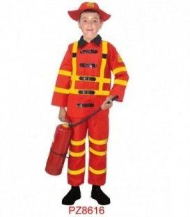 Disfraz Bombero - Niño