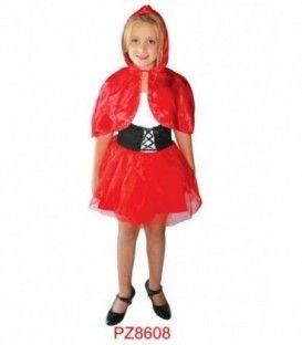 Disfraz Caperucita Roja - Niña