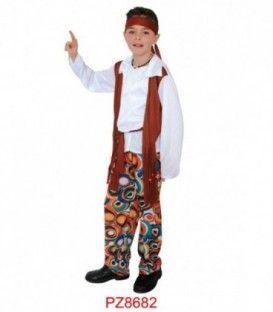 Disfraz Hippie - Niño