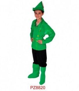 Disfraz Duende Verde - Niño