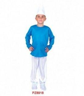 Disfraz Enano Azul - Niño