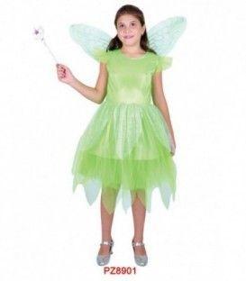 Disfraz Hada verde - Niña