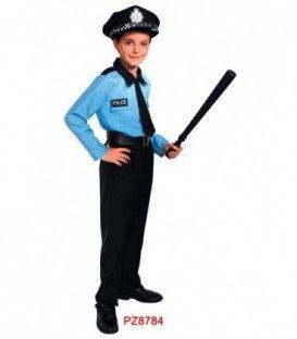 DISFRAZ POLICIA NINO PZ8784