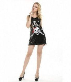 Vestido Lentejuelas Pirata2