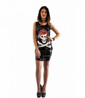 vestido Lentejuelas Pirata