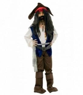 Disfraz Inspirado En Jack Sparow - Niño