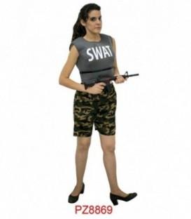 Disfraz Swat Mujer Adulto
