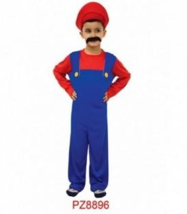 Disfraz Inspirado En Mario Bros - Niño