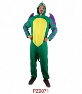 Disfraz Dragón Verde -Hombre
