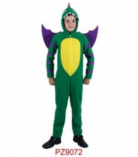 Disfraz Dragón Verde Infantil (Niño)