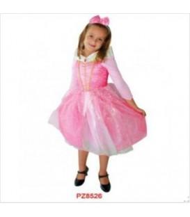 Disfraz Princesa Rosa - Niña