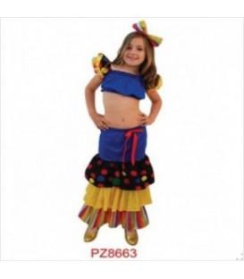 Disfraz Samba- Niña