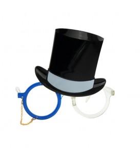 Gafas Con Sombrero