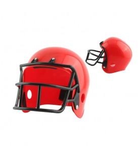 Casco Fútbol Americano Rojo
