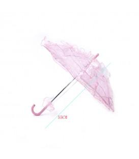 Sombrillas Paraguas Encaje Pequeña