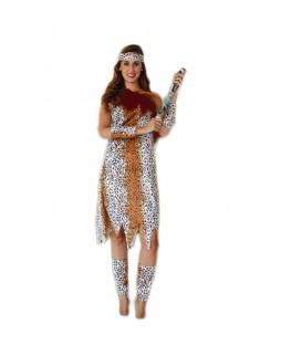 Disfraz Cavernícola Mujer - Adulto