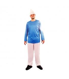 Disfraz Enano Azul Adulto