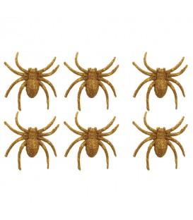 Pack Arañas 6 Uds