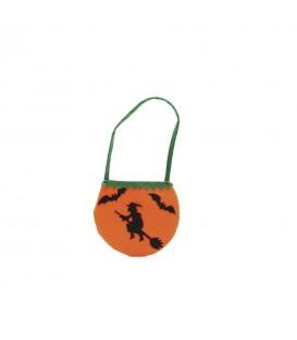 Saco De Halloween Con Bruja (80 cm)