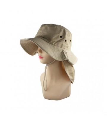 Sombrero Pesca con Cubre Cuello