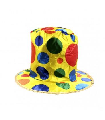 Sombrero Payaso Tela