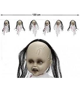 Guirnalda 120 Cm Con Luz (Bebes Fantasma)