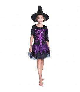 Disfraz Bruja Esqueleto