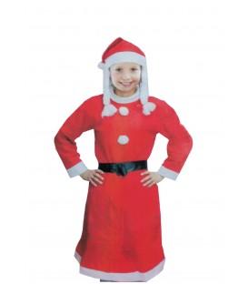 Disfraz Mama Noel Niña