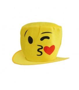 Sombrero Beso Emoticono