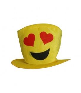 Sombrero Emotico Enamorado