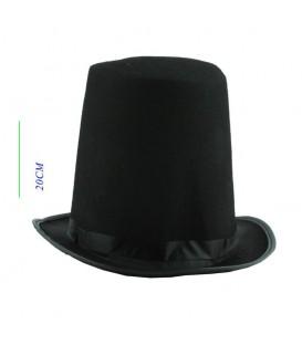Sombrero Largo Negro