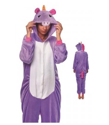 Disfraz Unicornio Lila AD