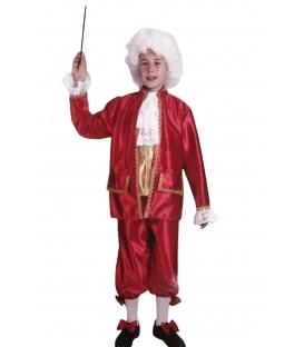 Disfraz Veneciano Rojo - Niño