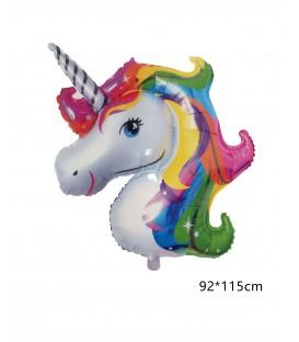"Globo Mylar Unicornio 40"" 92*115"