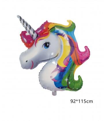 "Globo Mylar Unicornio 40"" 115*92"